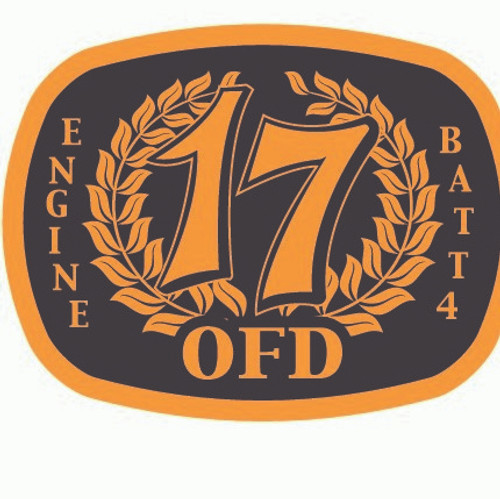 OFD Battalion 4 Engine 17 Buckle (RESTRICTED)