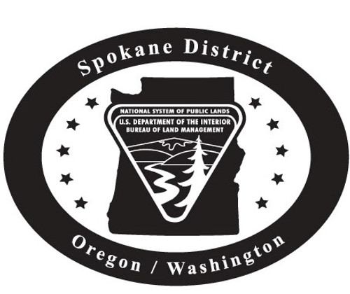 Oregon Washington Spokane District Bureau of Land Management Buckle