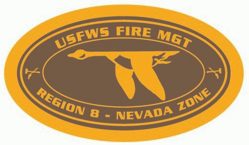 Fish & Wildlife Service Fire Management R8 Nevada Zone Buckle (RESTRICTED)