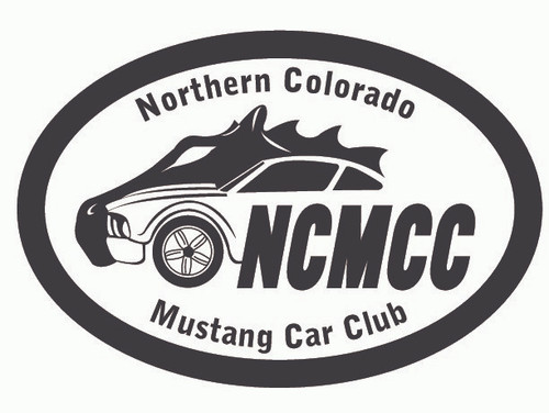 Northern Colorado Mustang Car Club Buckle (RESTRICTED)