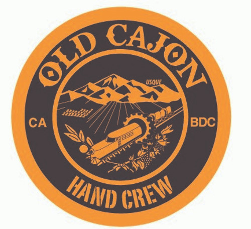 Old Cajon Hand Crew (circle) Buckle (RESTRICTED)