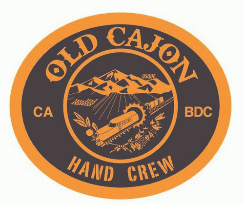 Old Cajon Hand Crew (oval) Buckle (RESTRICTED)