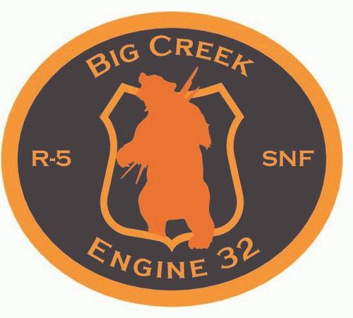Big Creek Engine 32 Buckle (RESTRICTED)