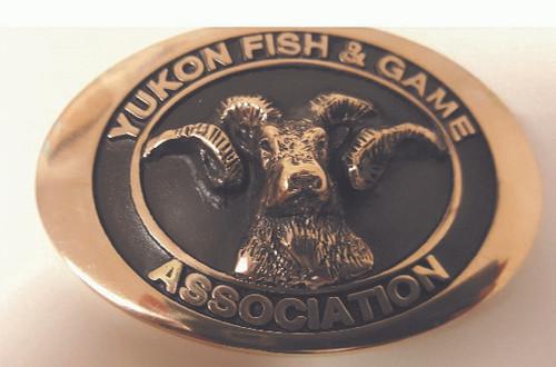 Yukon Fish & Game Association Buckle (RESTRICTED)