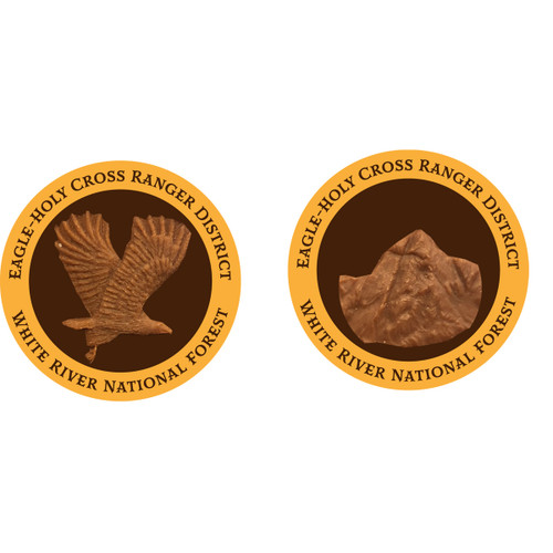 Eagle Holy Cross Ranger District Coins - BRONZE