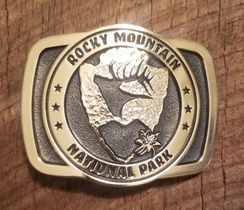 Rocky Mountain National Park Buckle