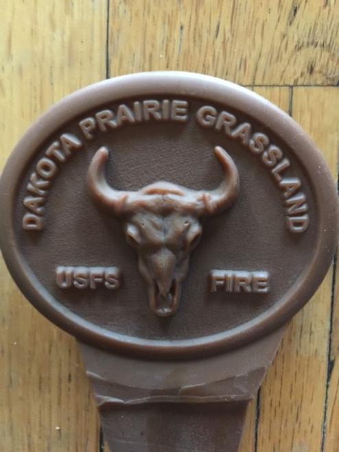 Dakota Prairie Grassland Fire Buckle