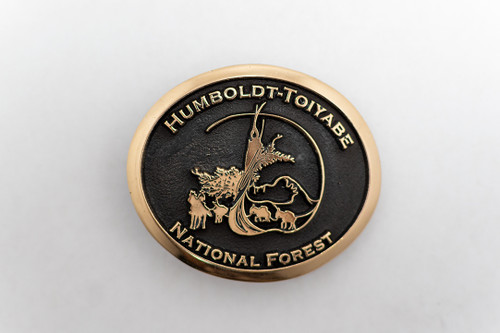Humboldt-Toiyabe National Forest Buckle