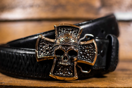 Celtic Skull Buckle
