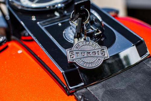 Sturgis 80th Anniversary Keychain