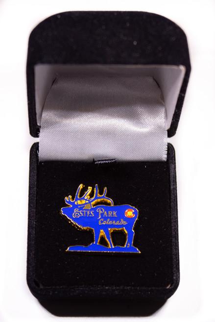 Estes Park Colorado Elk Pin