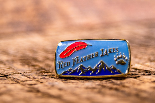 Red Feather Lakes Pin