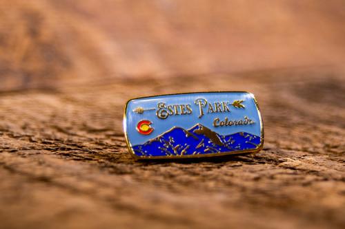 Estes Park Colorado Mountains Pin