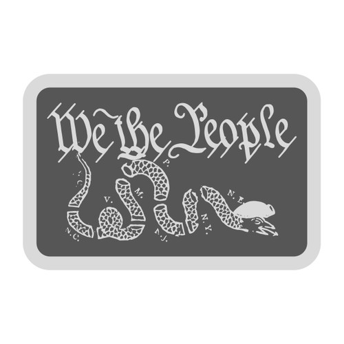The Man Spot Snake We the People Buckle (RESTRICTED)*WS