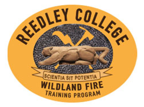 Reedley College Wildland Fire Training Program Buckle (RESTRICTED) *Bronze Only*