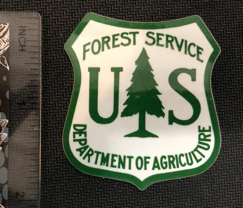 US Forest Service Shield -sticker