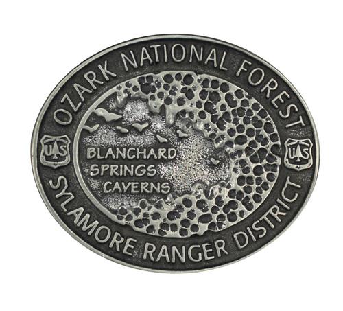 Ozark National Forest Sylamore Ranger District Blanchard Springs Caverns Buckle