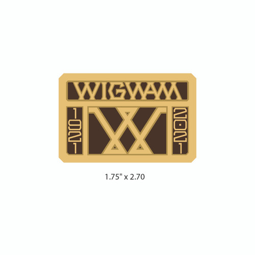 Wigwam Buckle (RESTRICTED)