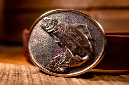Don Beck Pacific Northwest Rainbow Trout Buckle