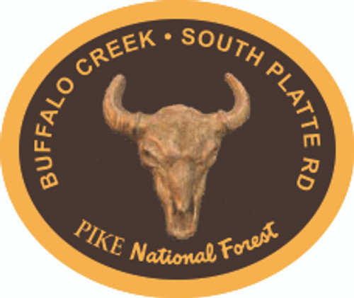 Buffalo Creek South Platte Ranger District Buckle (RESTRICTED)