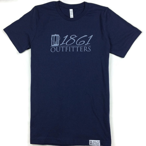 Navy 1861 Outfitters Logo T-Shirt