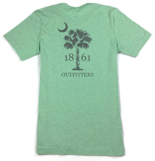 South Carolina Palmetto T-Shirt (Mint)