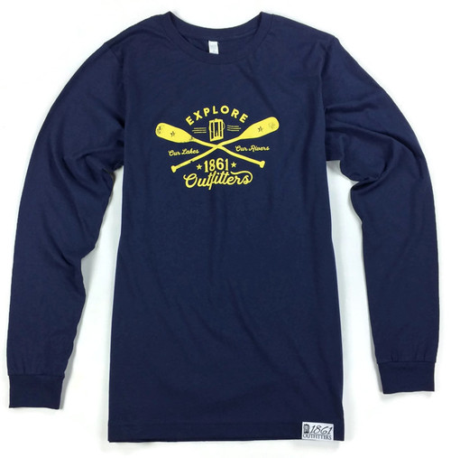 Explore Our Lakes Our Rivers Long Sleeve T-Shirt