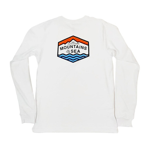 Explore the historic colonial towns, old textile mills and other historic sights while hiking the Mountains to the Sea trail. Our Mountains to the Sea longsleeve t0shirt comes in our super soft and lightweight 100% ringspun cotton feel you have come to love from 1861 Outfitters. This shirt comes in a unisex and true to fit design and qualifies for FREE SHIPPING!
