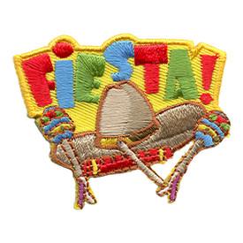 S-1489 Fiesta (Hat & Maracas) Patch