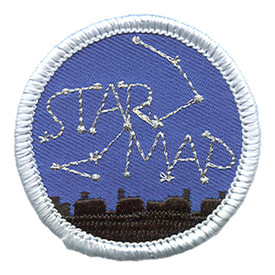 S-1492 Star Map Patch