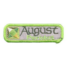 S-1507 Birthstone-Aug-Peridot Patch