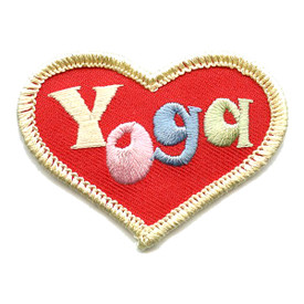 S-1524 Yoga (Heart) Patch