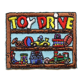 S-1525 Toy Drive Patch