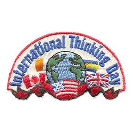 S-1526 International Thinking Patch