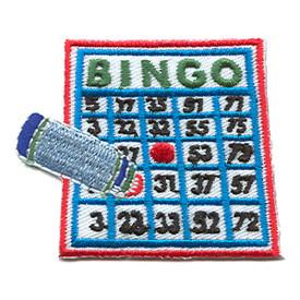 S-1528 Bingo (Board & Marker) Patch