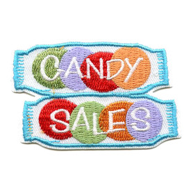 S-1529 Candy Sales Patch