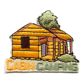 S-1531 Cabin Camping Patch