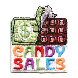 S-1534 Candy Sales Patch