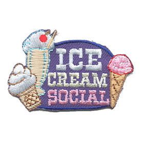 S-1541 Ice Cream Social Patch
