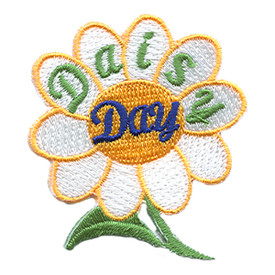 S-1542 Daisy Day (White Petals) Patch