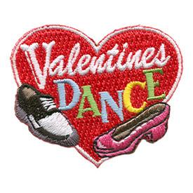 S-1546 Valentines Dance (Shoes) Patch