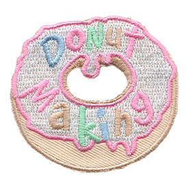 S-1557 Donut Making Patch