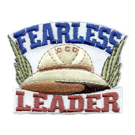 S-1563 Fearless Leader Patch