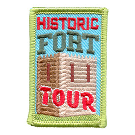 S-1566 Historic  Fort Tour Patch