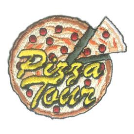 S-1571 Pizza Tour Patch