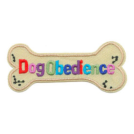 S-1574 Dog Obedience Patch