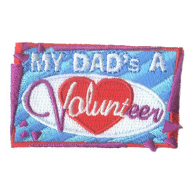 S-1577 My Dad's A Volunteer Patch