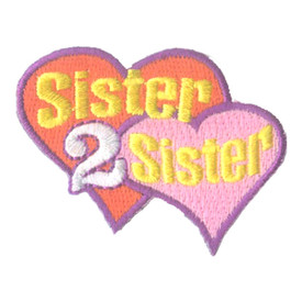 S-1581 Sister 2 Sister Patch