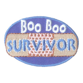 S-1597 Boo Boo Survivor Patch