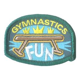 S-1598 Gymnastics Fun Patch